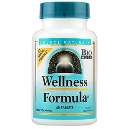Source Naturals Wellness Formula - Herbal Defense Complex - 45 Tablets