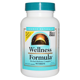 Source Naturals Wellness Formula - Herbal Defense Complex - 90 Tablets