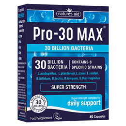 Natures Aid Pro-30 MAX - Daily Support - 60 Capsules