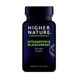 Higher Nature Astaxanthin & Blackcurrant - 30 x 2mg Vegicaps