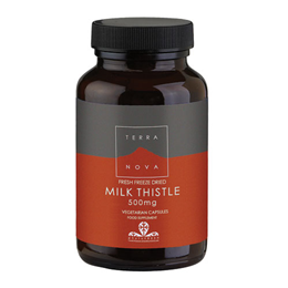 TERRANOVA Milk Thistle 500mg - 100 Vegicaps