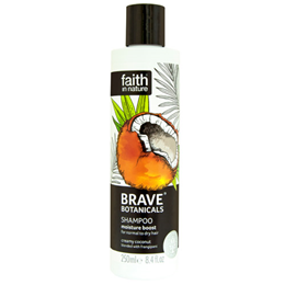 Faith in Nature Brave Botanicals Coconut Shampoo - 250ml