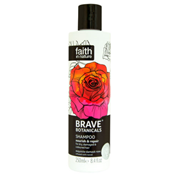 Faith in Nature Brave Botanicals Rose & Neroli Shampoo - 250ml