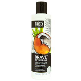 Faith in Nature Brave Botanicals Coconut Conditioner - 250ml