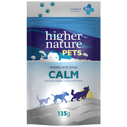 Higher Nature Pets Calm - Anxiety & Stress - 135g