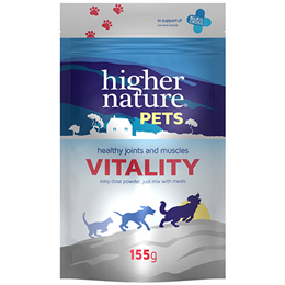 Higher Nature Pets Vitality - Healthy Joints & Muscles - 155g