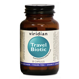 Viridian Travel Biotic - 30 Vegicaps