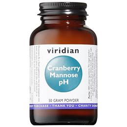 Viridian Cranberry Mannose pH - 50g Powder