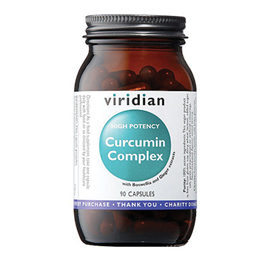 Viridian High Potency Curcumin Complex - 90 Vegicaps