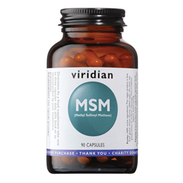 Viridian MSM (Methyl Sulfonyl Methane) - 90 Vegicaps