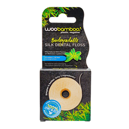 Woobamboo Eco Dental Floss - Mint - 37.5 Meters