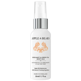 APPLE & BEARS Mini Bergamot & Green Tea Body Silk Moisturiser - 50ml