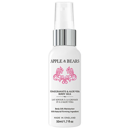 APPLE & BEARS Mini Pomegranate & Aloe Vera Body Silk Moisturiser -50ml