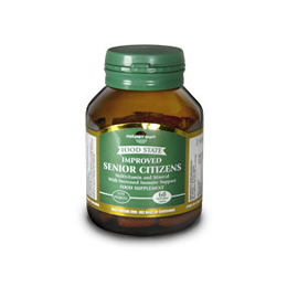 Natures Own Food State Senior Citizens - Multi Vitamins - 60 Tablets