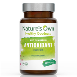 Natures Own Food State Antioxidant Plus Coenzyme Q10 - 30 Tablets