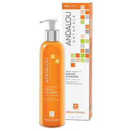 Andalou Meyer Lemon +  Vitamin C Creamy Cleanser - 178ml