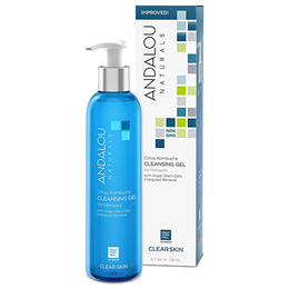 Andalou Citrus Kombucha Cleansing Gel - 178ml