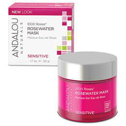 Andalou 1000 Roses Rosewater Mask Sensitive - 50ml
