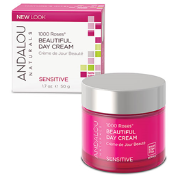 Andalou 1000 Roses Beautiful Day Cream - 50g