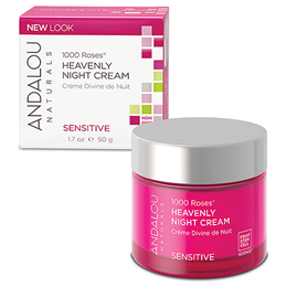 Andalou 1000 Roses Heavenly Night Cream - 50g