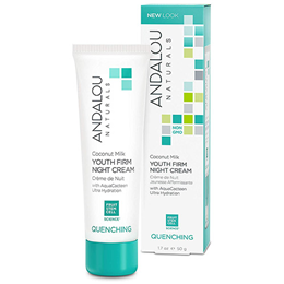 Andalou Coconut Milk Youth Firm Night Cream - 50g