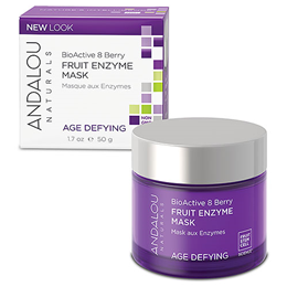 Andalou BioActive 8 Berry Fruit Enzyme Mask - 50g