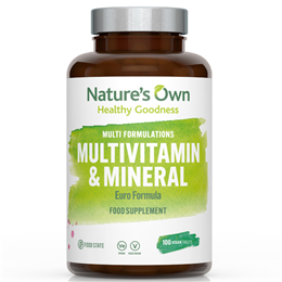 Natures Own Food State Multivitamin and Mineral - 100 Tablets
