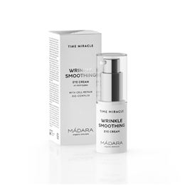 MADARA Time Miracle Wrinkle Smoothing Eye Cream - 15ml - Best before date is 31st January 2019