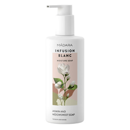 MADARA Infusion Blanc Moisture Hand & Body Soap - Jasmine - 300ml - Best before date is 31st January 2019