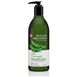 Avalon Aloe Unscented Hand & Body Lotion - 340g
