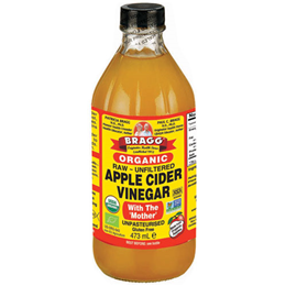 Bragg Organic Apple Cider Vinegar - With the Mother - 473ml