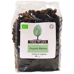 Tree of Life Organic Raisins - 500g