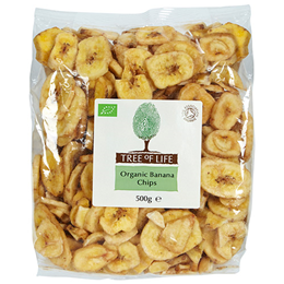 Tree of Life Organic Banana Chips - 500g