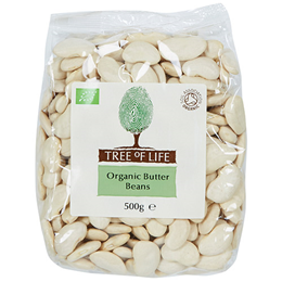 Tree of Life Organic Butter Beans - 500g