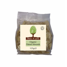 Tree of Life Organic Flaked Almonds - 125g