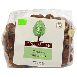 Tree of Life Organic Hazelnuts - 250g
