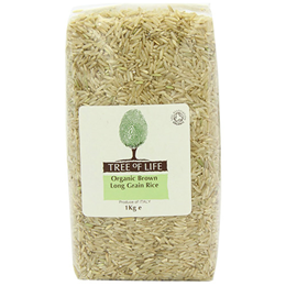 Tree of Life Organic Long Grain Brown Rice - 1kg