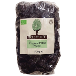 Tree of Life Organic Pitted Prunes - 500g