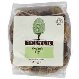 Tree of Life Organic Figs - 250g