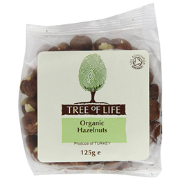 Tree of Life Organic Hazelnuts - 125g