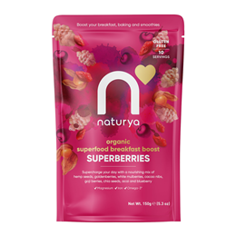 Naturya Breakfast Boost Superberries - 150g