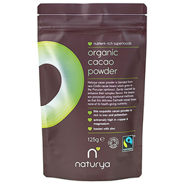 Naturya Organic Fair Trade Cacao Powder - 125g