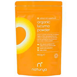 Naturya Organic Lucuma Powder - 150g - Best before date is 31st March 2018