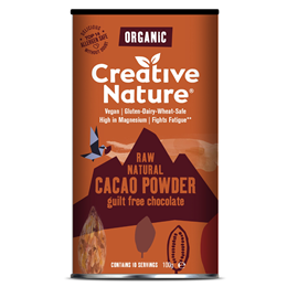 Creative Nature Organic Raw Cacao Powder - 100g