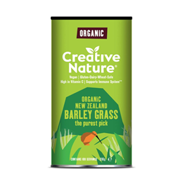 Creative Nature Organic New Zealand Barley Grass Powder - 200g