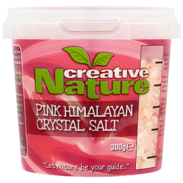 Creative Nature Pink Himalayan Crystal Salt - Coarse - 300g