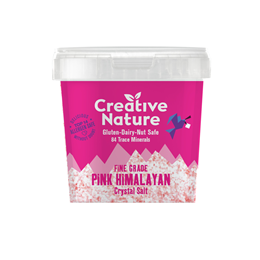 Creative Nature Pink Himalayan Crystal Salt - Fine - 300g