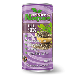 Creative Nature Chia Seeds - 200g