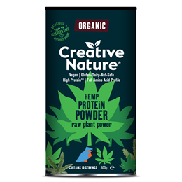 Creative Nature Hemp Protein Powder - 300g