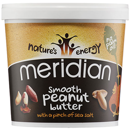 Meridian Smooth Peanut Butter with Salt - 1kg